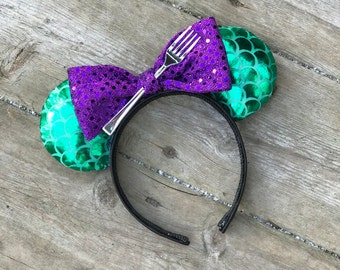 Ariel Ears - Disney Ears - Mermaid Ears - Minnie Ears - Mickey Ears