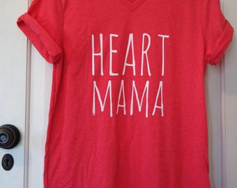 Heart Mama Shirt // CHD Warrior