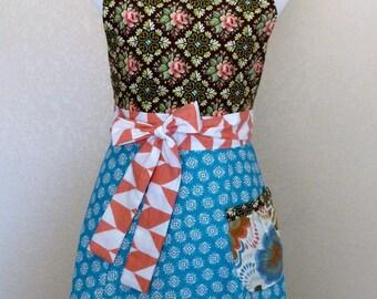Kyla Apron, Women's vintage apron - Laneymade