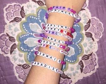 Alphabet Word Bracelets