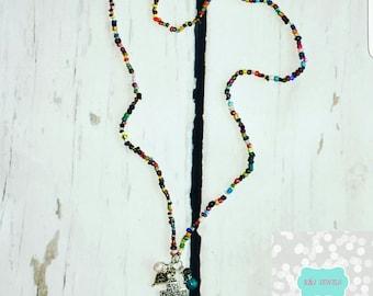 FAITH necklace / wrap bracelet