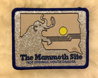 Vintage Mammoth Hot Springs, South Dakota Patch