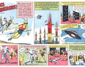 Space Conquerors & Twin Earths Comics on DVD