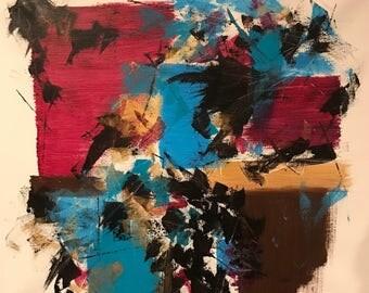 Spontaneous - Abstract Acrylic Painting