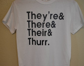 They're, There, Their, Thurr (Adult S)