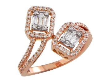 18k Rose Gold & Diamonds
