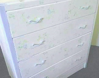 C.W.S 1950's 4 drawer chest of drawers
