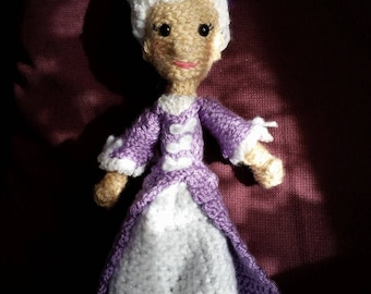 crAFty Characters: Marie Antoinette doll, Queen of France // The History Gifts, Girl Boss Collection