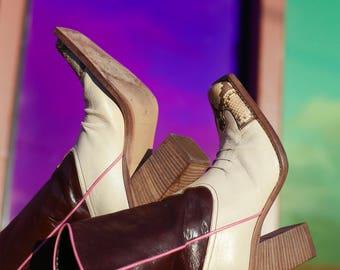 Vintage Miu Miu Cowboy Boots