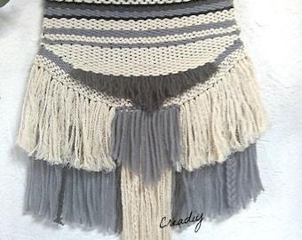 Blue-grey weave