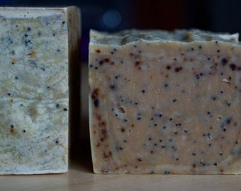 Natural beer, soft & Exfoliating soap for both