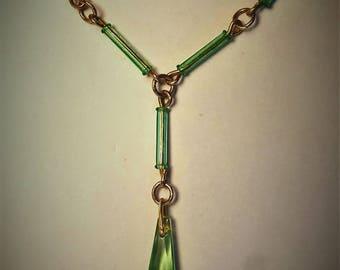 Art Deco Seahorse Necklace