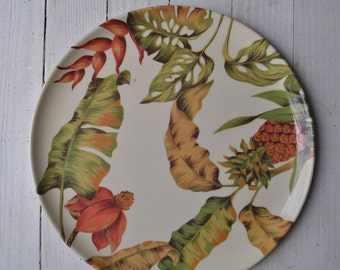 Banana leaf precidio serving platter