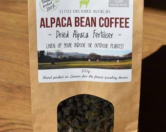 Alpaca Bean Coffee - Fertiliser for Plants!