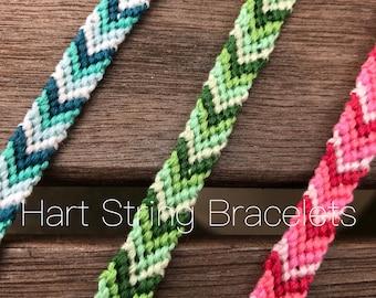 Chevron Ombre Bracelets | Friendship Bracelet |