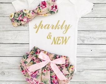 Newborn Girl Coming Home Outfit, Newborn Girl, Newborn Outfit, Newborn Girl Clothes, Newborn Girl Gift, Newborn Girl Outfit, Newborn Girl