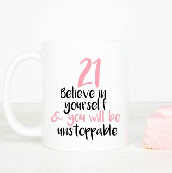 21st birthday mug, personalised lovely 21st birthday mug, twenty birthday mug, make the birthday girl happy