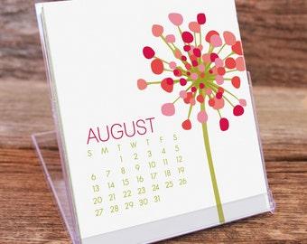 2017 Desk Calendar / Botanical Calendar