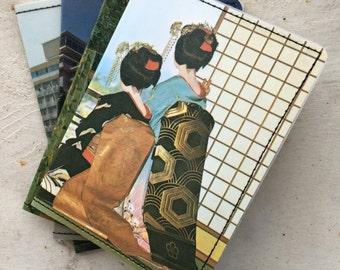 Slim Wallet- Vintage Postcards of Japan- Choose 1