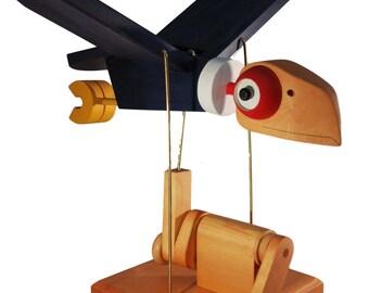 Calvin The California Condor Automaton