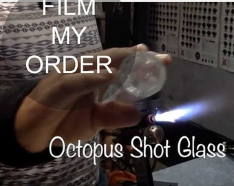 Video Add on/ Digital Video / Production Video / Film of the Glass Making Process / Add-On for You Choose the Color / Made to Order
