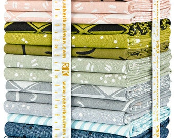 Robert Kaufman Arroyo Multi Fat Quarter Bundle 24 FQs Precut Cotton Fabric Quilting Erin Dollar FQ-1242-24