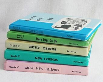 Old book journal--you choose the book // Vintage School Readers // Recycled Book by PrairiePeasant