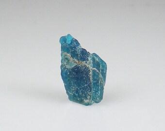 Neon Blue Apatite Rough Gemstone Raw Natural Healing Metaphysical Reiki