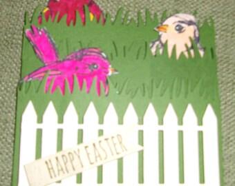 Happy Easter Birds - Version 2