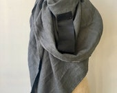Reserved for Judy Linen Leather Scarf Winter Sale , Accessories Fashion Wraps & Shawls Women's Large Scarf