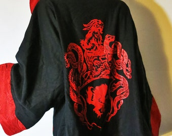 Satanic Warmaster Crest Robe