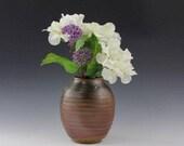 Woodfired pottery vase...