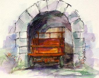 Italy Archway-Ofena