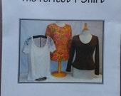 Misses Tee Shirt Pattern The Perfect T Shirt Pamela's Patterns #104 Sizes xsmall to xlarge