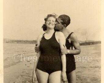Coney Island Couple Circa 1930s Digital Download