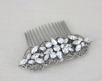 Bridal hair comb, Wedding headpiece, Swarovski hair comb, Wedding hair accessories, Crystal hair comb, Bridal hair piece, Wedding hair comb