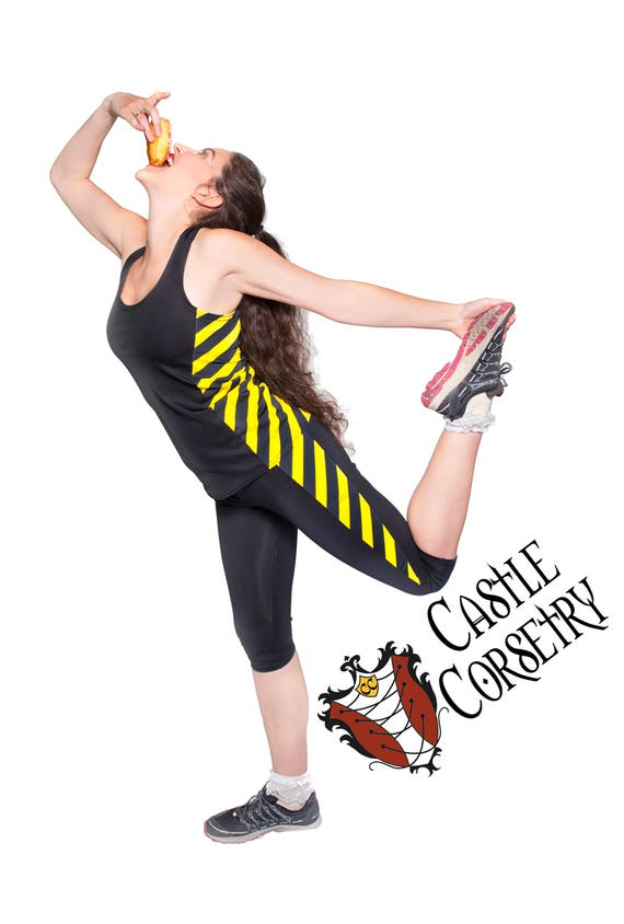 Yellow #BasicWitchWear Workout Pants PREORDER