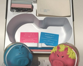 Vintage Trivia Game Chauvinist Pigs by Tiger Games 1991