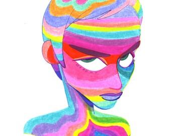 Rainbow Lady G