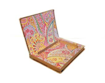 Hollow Book Safe Dressmaking Made Easy Sewing Cloth Bound vintage Secret Compartment Hidden Security Box