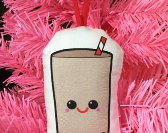 Rhode Island Coffee Milk Christmas Ornament