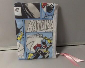 Batgirl Fabric Coin Purse- Handmade DC Comic-