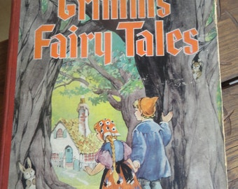 1934 GRIMM'S FAIRY TALES