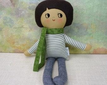 Dash Boy Doll // Handmade Doll // Boy Gift // Rag Doll // Nursery Decor // Boys Room Decor // Warm Sugar Doll
