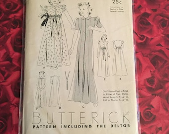 20's Vintage Butterick Deltor Pattern