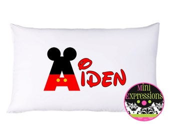 Mouse Inspired Personalized  PillowCase