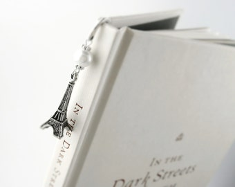Paris Bookmark - Womens Paris Gift Her - Women Bookmark Her - Eiffel Tower Book Mark - Gift For College Girl - Women College Gift Her Small