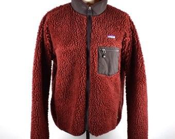 RETRO Men's Patagonia Fleece Jacket, Men's Large