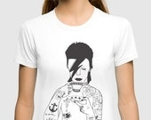 David Bowie UNISEX T-Shirt by EmilyThePemily