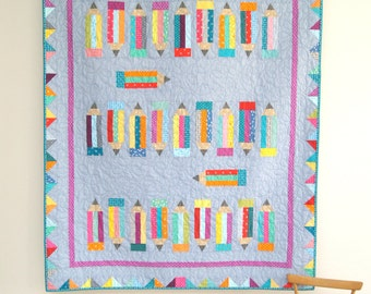 Coloured Capers Quilt PDF Quilt pattern - Immediate Download